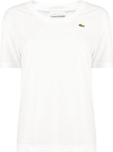 Tričko Lacoste Neck Jersey Tennis T Shirt - Glami.sk 8c30630494