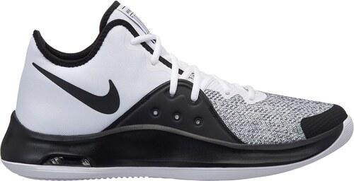 basketbalové boty boty Nike Air Versitile 3 pánské Baskteball White Black 2248a4f77a0