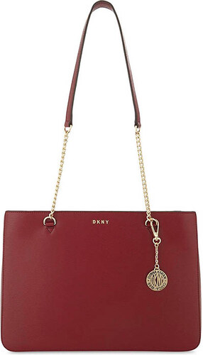 DKNY Donna Karan DKNY kožená kabelka Bryant park saffiano scarlet ... 031c2a4c87