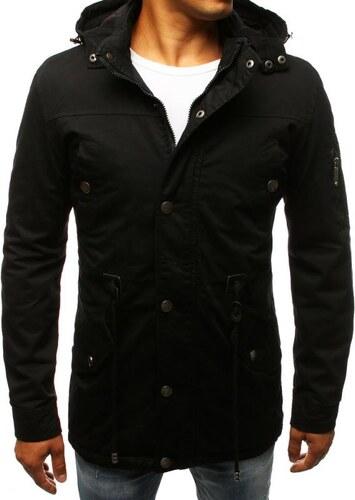 664f9e75bd Manstyle Férfi stílusú fekete télikabát kabát átmeneti - Glami.hu