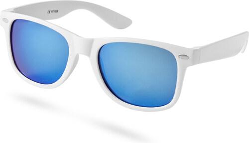 Paul Riley Dinamikus kék lencsés napszemüveg fehér kerettel - Glami.hu 62fa47297d