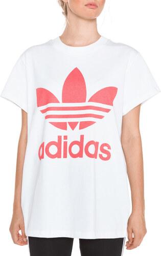 adidas Originals Trefoil Tričko Biela - Glami.sk 2891b7cf887