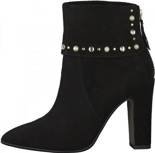 Tamaris dámská kotníčková obuv 37 černá - Glami.cz 4f9c2b761a8