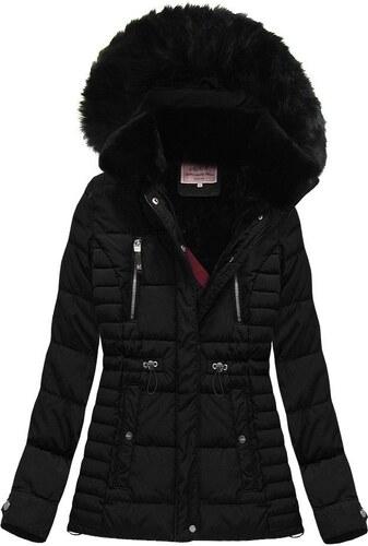 Jejmoda.sk Dámska zimná bunda MODA736 čierna - Glami.sk e97665f57d9