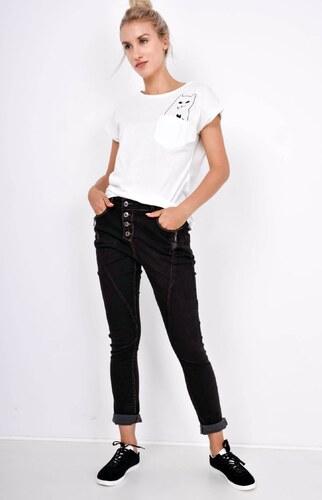 BASIC Černé baggy kalhoty - B253 - Glami.cz 9186847989