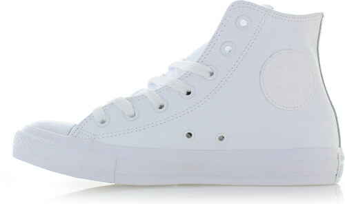 84ff6cdaf1 Converse Dámske biele vysoké kožené tenisky Chuck Taylor All Star Leather
