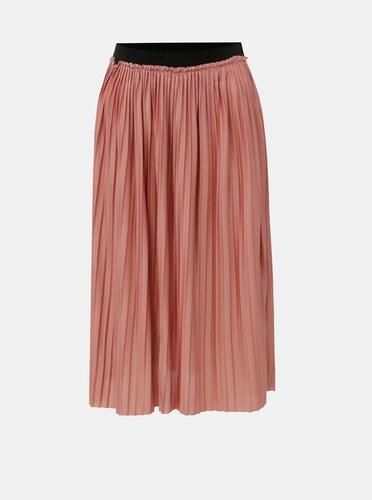 Růžová plisovaná sukně Jacqueline de Yong Asymic - Glami.cz 0ba71515f8