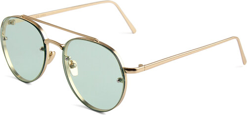 3235b38f1 Hipsters Slnečné okuliare Hipster Green - Glami.sk
