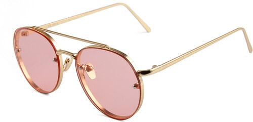 Hipsters Slnečné okuliare Hipster Pink - Glami.sk f576b26155d
