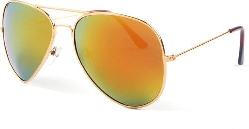 1332ae83f Hipsters Slnečné okuliare Aviator Pilot Flame polarizačné - Glami.sk