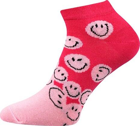 Ponožky Boma Smile Pink  ec19643ccf