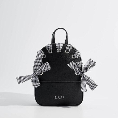 71a1be56eb1 Mohito - Dievčenský ruksak s ozdobnou stužkou Little Princess - Čierna