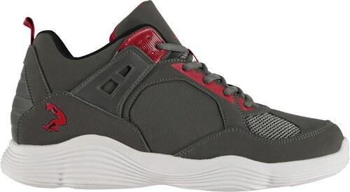basketbalové boty boty SHAQ Diversion Basketball pánské Charcoal Red ... 5809be9c6f