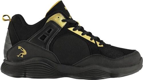 -22% basketbalové boty boty SHAQ Diversion Basketball pánské Black Gold 32ffaa8e39