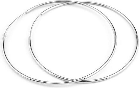 Silvego Stříbrné náušnice kruhy 60 mm BMBE60 - Glami.cz 9a0d75fbe76