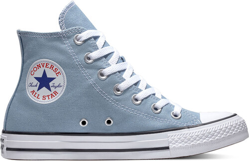 c211ce5a55 -30% Converse Chuck Taylor All Star Classic High Top Washed Denim tyrkysové  C162114