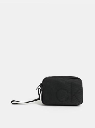 193c030b7d Černá pánská toaletní taška Calvin Klein Jeans - Glami.cz