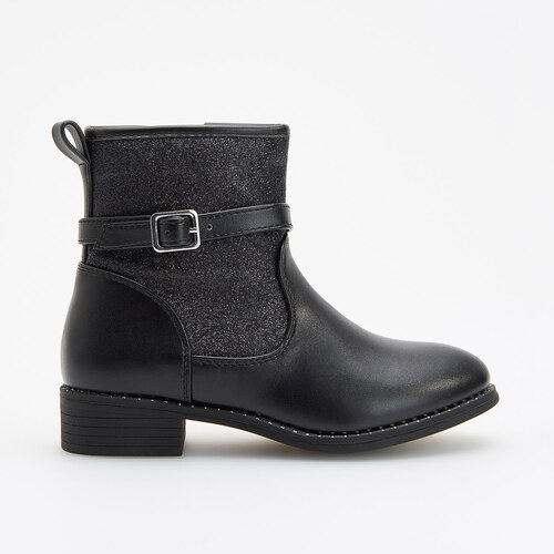 Reserved - Mierne zateplené členkové topánky - Čierna - Glami.sk 00a83bbd3e1