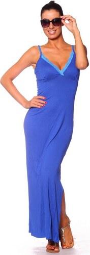 592ee9f250e9 Kráľovské modré letné šaty - Glami.sk