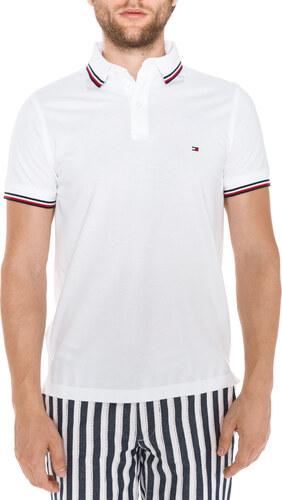 Tommy Hilfiger Polo triko Bílá - Glami.cz 92e387c28fe