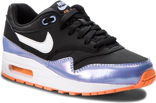 promo code d609f c8a51 Topánky NIKE - Air Max 1 (GS) 807605 003 Black White Twilight Pulse