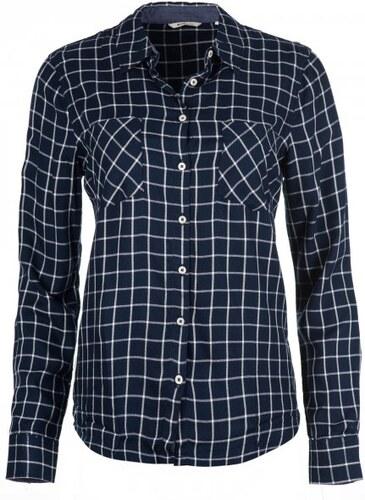 943e57cfbd0 Mustang dámská košile Checkblouse 36 tmavě modrá - Glami.cz