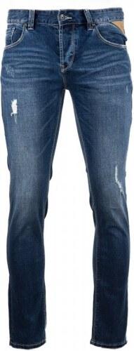 Timeout pánské jeansy 38 34 tmavě modrá - Glami.cz 91f87b51ec