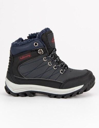 f0f37702f1b58 AX BOXING Teplé modré detské členkové topánky - Glami.sk