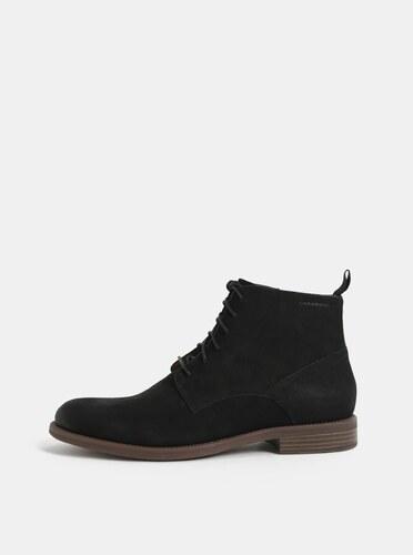 Čierne pánske kožené členkové topánky Vagabond Salvatore - Glami.sk f19142205c3