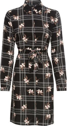 Bonprix Šaty s károvaným vzorom - Glami.sk 70f51a8c866