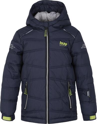 Chlapecká lyžařská bunda LOAP FALDA L8103 TMAVĚ MODRÁ - Glami.cz be9cfa2ec6c