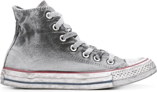 Converse Chuck Taylor All Star Basic Wash hi-top sneakers - Grey ... d38cf7eb74