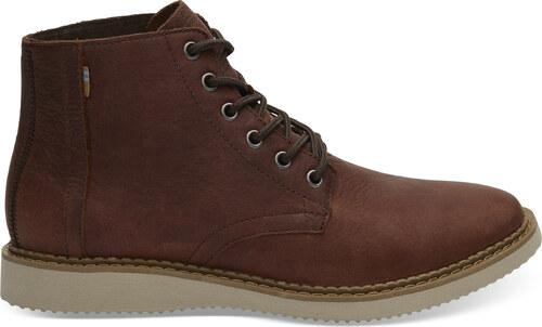 Pánske tmavo-hnedé členkové topánky TOMS Porter - Glami.sk 2e1ae1b2116