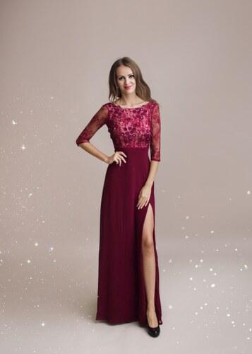 Adria Dámské společenské dlouhé šaty Elisa - Glami.cz 344a81fe21