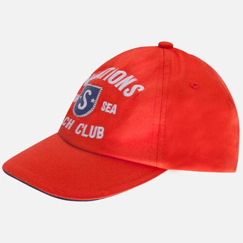 MAYORAL chlapecká kšiltovka s výšivkou - červená - Glami.cz 3ed502c227