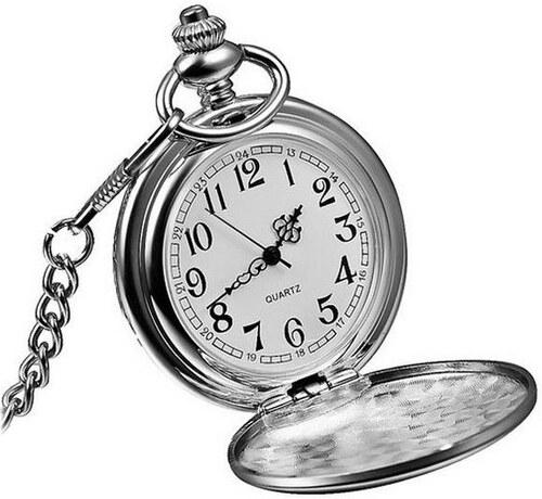 S4U Kapesní hodinky otevírací - cibule - Glami.cz dc332818e4