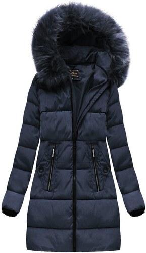 1db1ab3baa2e Jejmoda.sk Dámska zimná bunda MODA7756 modrá veľkosť XL - Glami.sk
