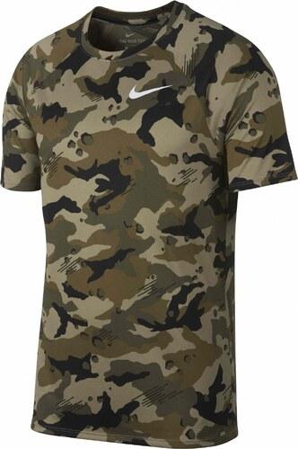 1cb772bb Nike M nk dry leg tee camo aop NEUTRAL OLIVE/WHITE - Glami.cz