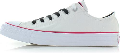 -40% Converse Dámské bílé nízké tenisky Chuck Taylor All Star Collegiate  Colors 206727011d7