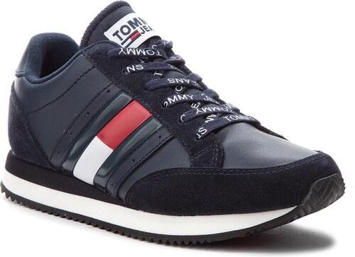 Sneakersy TOMMY JEANS - Rwb Casual Retro Sne EN0EN00289 Midnight 403 ... 7b4690c7d3a