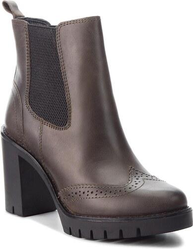 Magasított cipő TOMMY HILFIGER - Casual Heeled Chelse FW0FW03058 Musk 203 936f365b70
