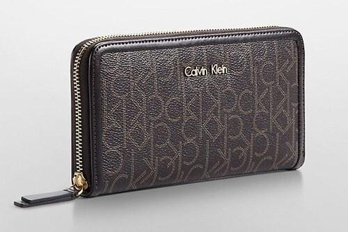Calvin Klein dámská peněženka Momogram Jacquard černá - Glami.sk 1a504b69462