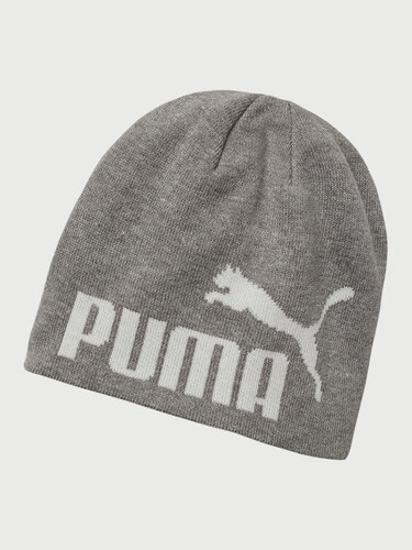 Čepice Puma Ess Big Cat Beanie Light Gray Heather-White - Glami.cz a34e5e7daf