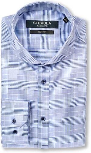 468842712e10 STEVULA Moderná košeľa s jemnou štruktúrou
