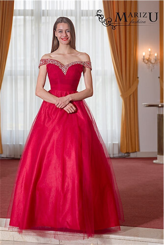 e8d7f5bd7f8f Marizu fashion krásné vínově červené maturitní