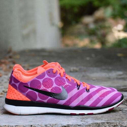 e41b099de5 Nike FREE 5.0 TR FIT 5 PRT Dámské boty 704695-500 - Glami.cz