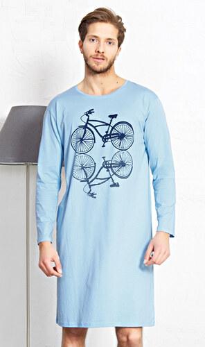 Gazzaz Pánská noční košile s dlouhým rukávem Velociped - Glami.cz 66f8131731