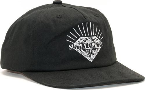 1ee4cc1636e -20% Kšiltovka Diamond Supply Co. Split Unstructured Black Snapback