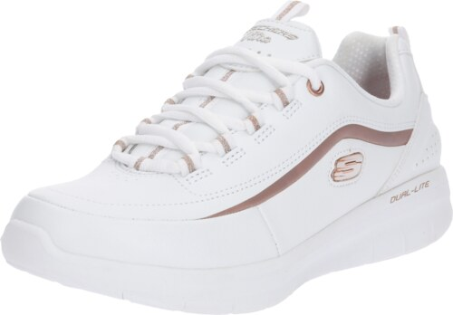 SKECHERS Tenisky  SYNERGY 2.0  růžově zlatá   bílá - Glami.cz 85f110f1ae9