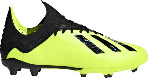 Chlapecké kopačky lisovky adidas Performance X 18.1 FG J (Žltá   Čierna    Biela) 99b52f34b8